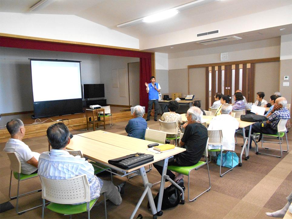 Traffic safety seminars for local elderly residents