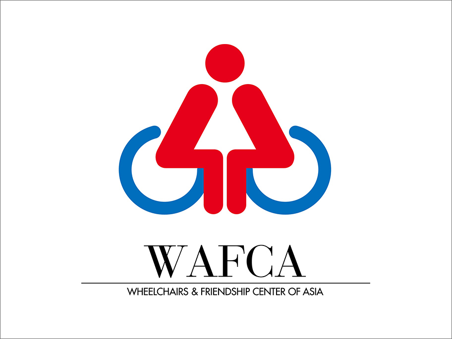 Participating in WAFCA (NPO : Wheelchairs & Friendship Center of Asia)